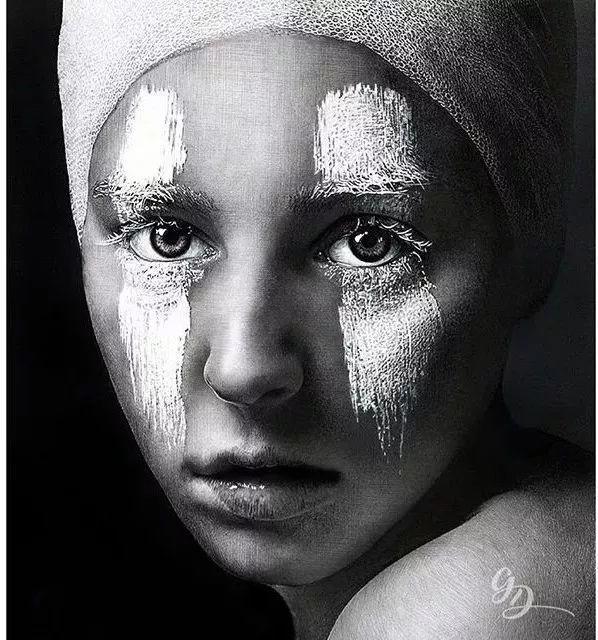 超写实绘画作品——Kamalky Laureano插图89