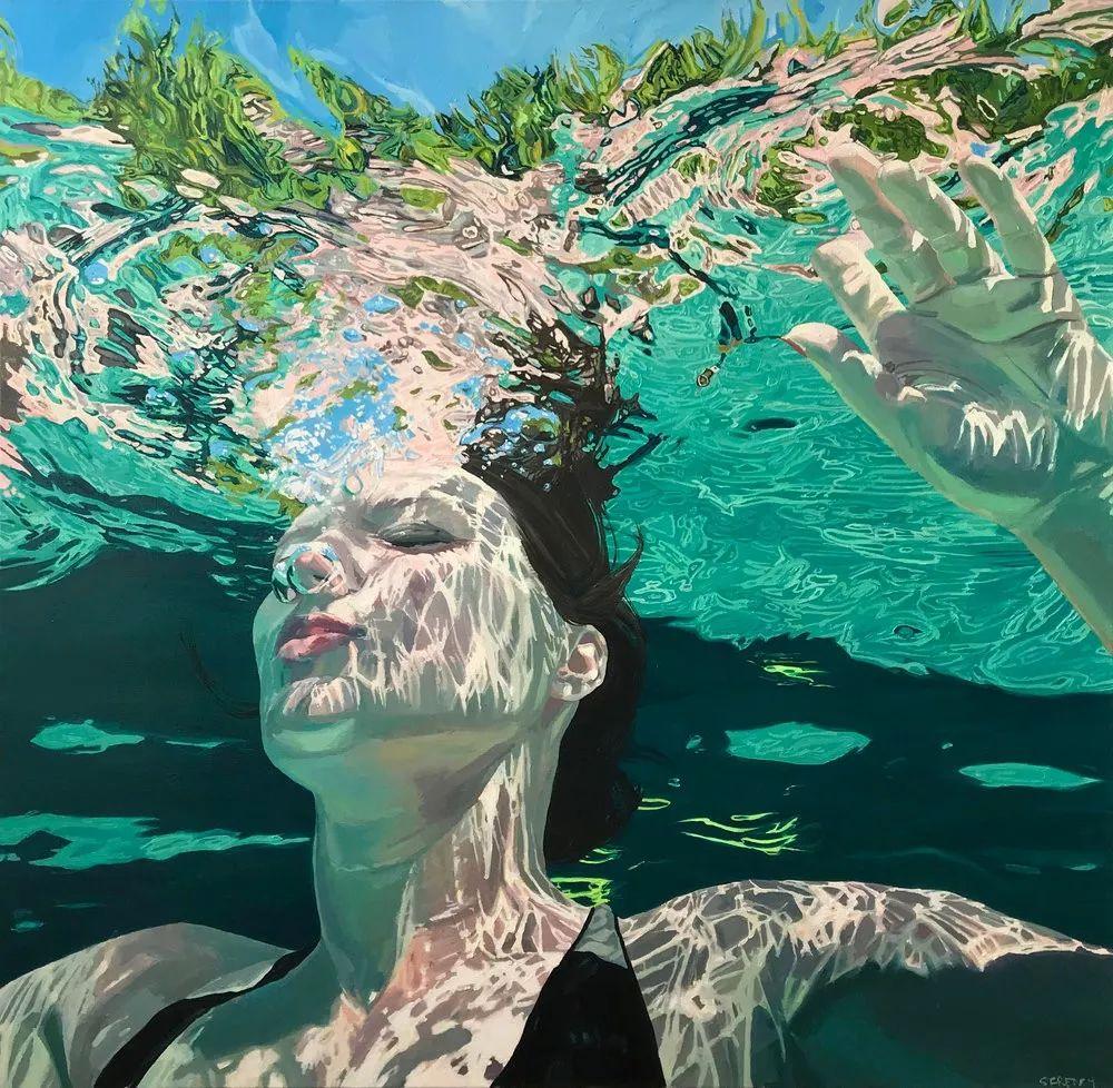 一个女人画了14年,真实感直逼摄影作品插图34