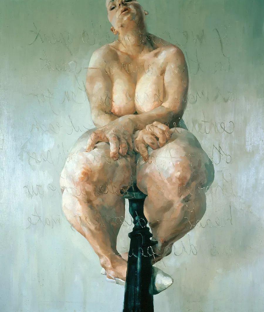 西方绘画中女性总是以柔美丰腴形象出现,但她却…插图1