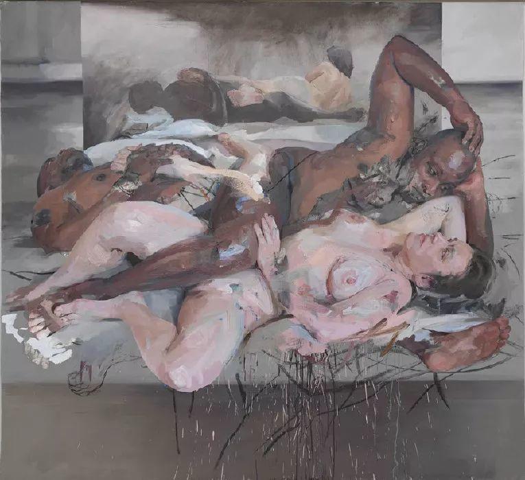 西方绘画中女性总是以柔美丰腴形象出现,但她却…插图39