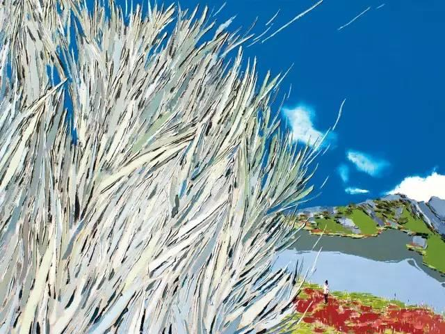 他同时用一百多种颜色激情作画——洪浩昌插图16