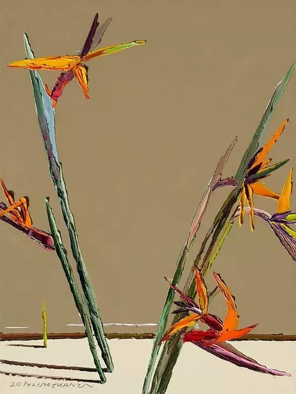 他同时用一百多种颜色激情作画——洪浩昌插图19