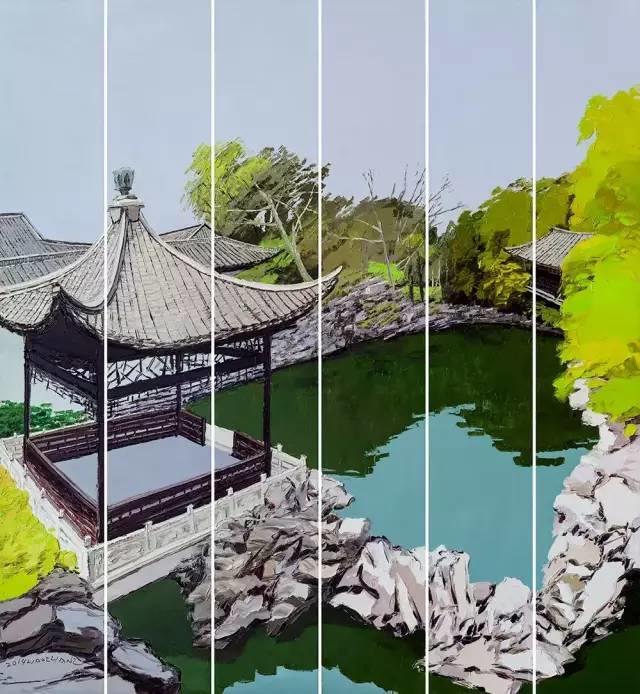 他同时用一百多种颜色激情作画——洪浩昌插图31