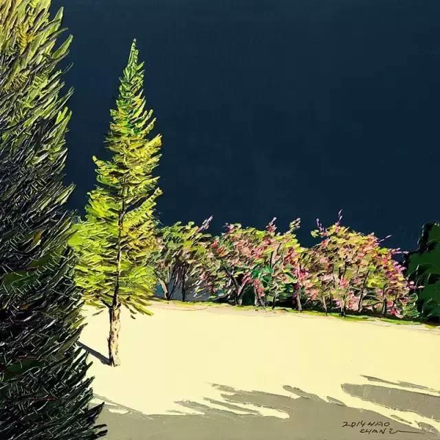他同时用一百多种颜色激情作画——洪浩昌插图32