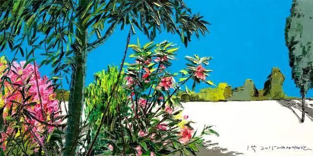 他同时用一百多种颜色激情作画——洪浩昌插图39
