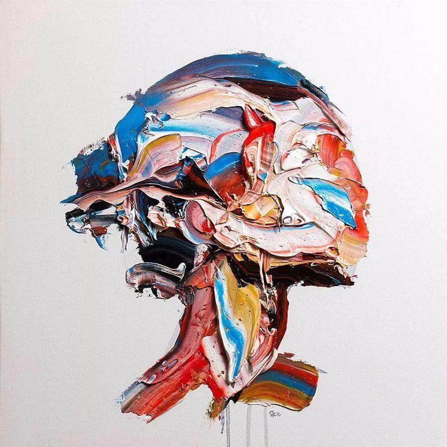 极具张力的大型刀画——伊朗艺术家Salman Khoshroo插图2