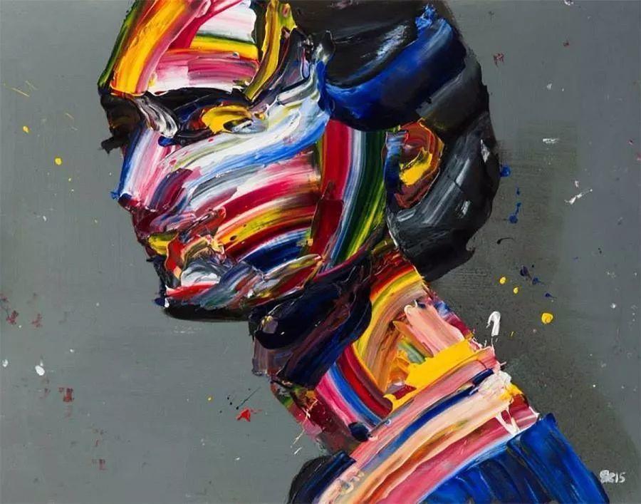 极具张力的大型刀画——伊朗艺术家Salman Khoshroo插图7