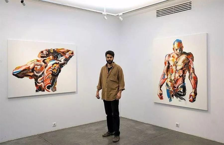 极具张力的大型刀画——伊朗艺术家Salman Khoshroo插图10