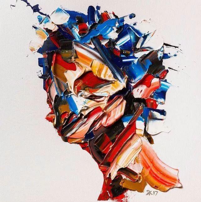 极具张力的大型刀画——伊朗艺术家Salman Khoshroo插图18