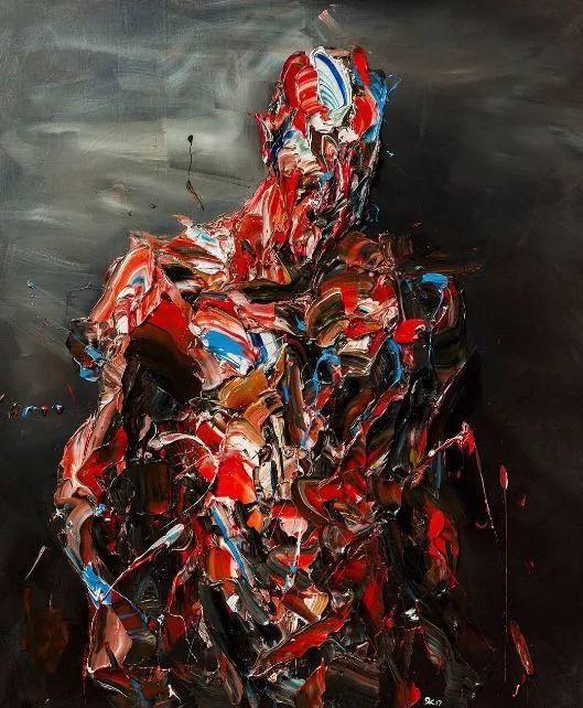 极具张力的大型刀画——伊朗艺术家Salman Khoshroo插图19