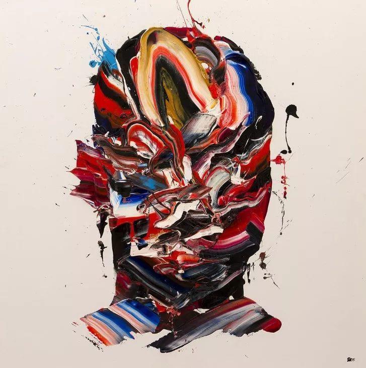 极具张力的大型刀画——伊朗艺术家Salman Khoshroo插图21