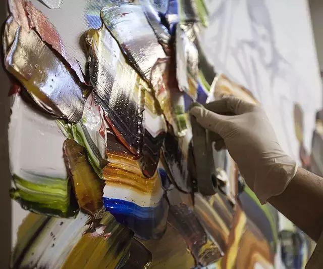 极具张力的大型刀画——伊朗艺术家Salman Khoshroo插图22