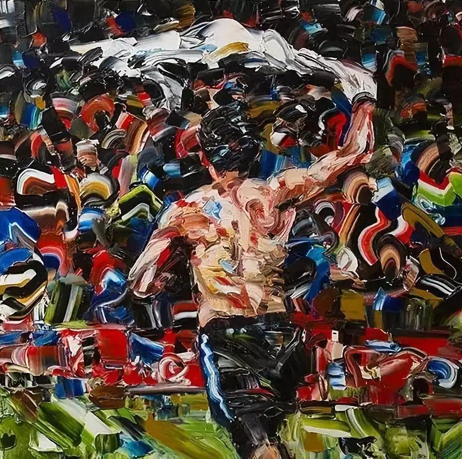 极具张力的大型刀画——伊朗艺术家Salman Khoshroo插图28