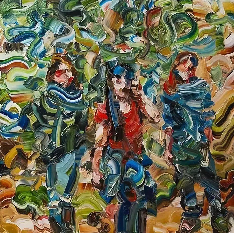 极具张力的大型刀画——伊朗艺术家Salman Khoshroo插图30