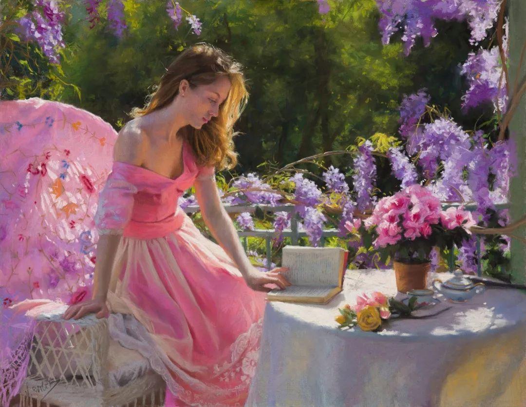 色粉大师的浪漫之光——Vicente Romero插图
