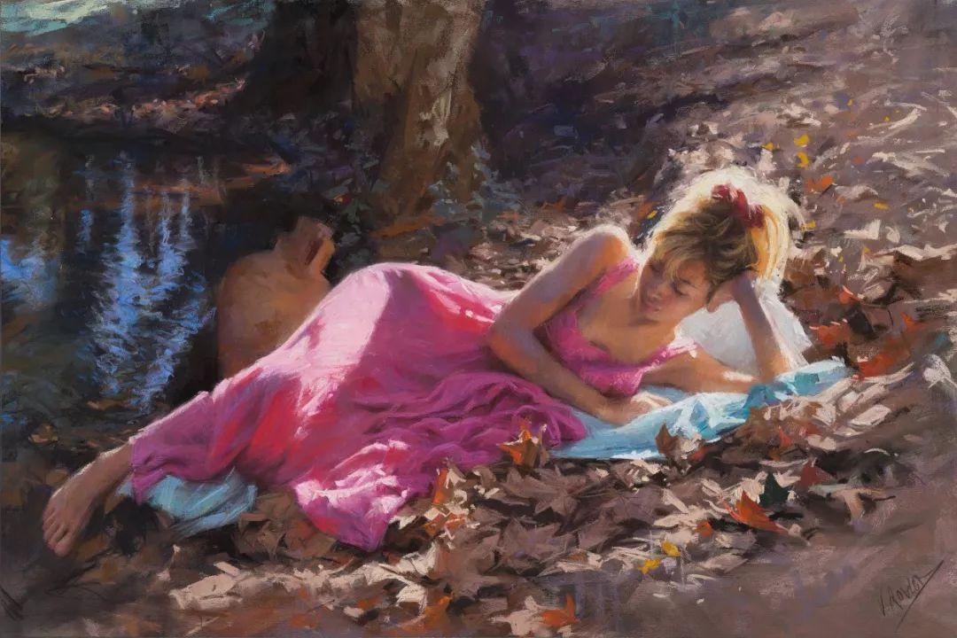 色粉大师的浪漫之光——Vicente Romero插图18