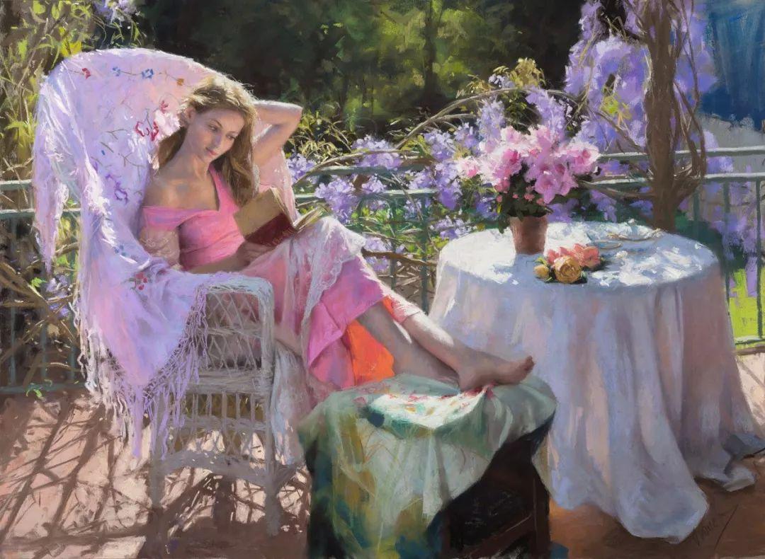 色粉大师的浪漫之光——Vicente Romero插图19