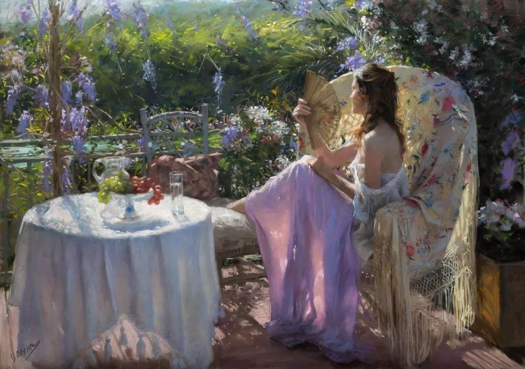 色粉大师的浪漫之光——Vicente Romero插图28