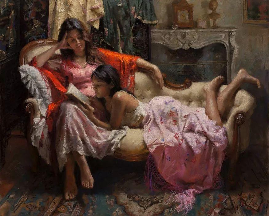 色粉大师的浪漫之光——Vicente Romero插图39