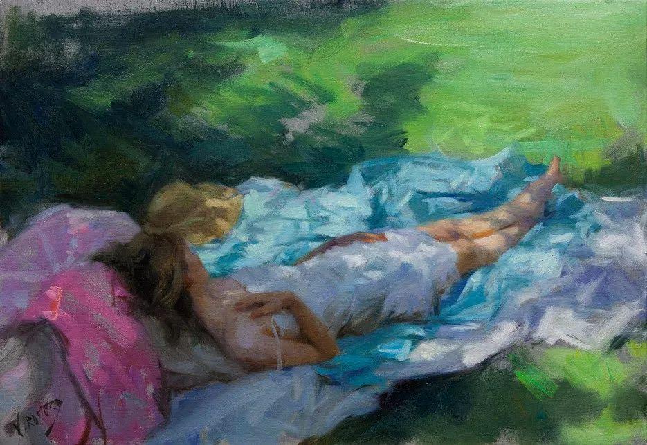 色粉大师的浪漫之光——Vicente Romero插图43