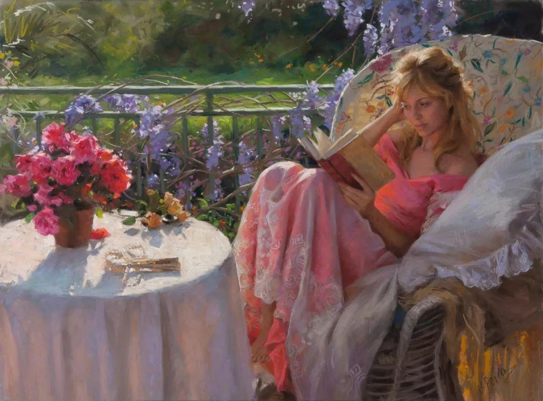 色粉大师的浪漫之光——Vicente Romero插图45