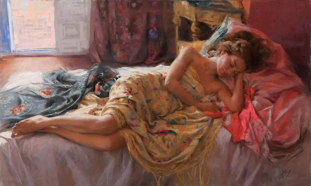 色粉大师的浪漫之光——Vicente Romero插图48