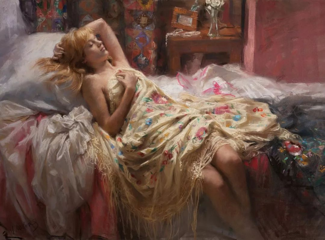 色粉大师的浪漫之光——Vicente Romero插图53