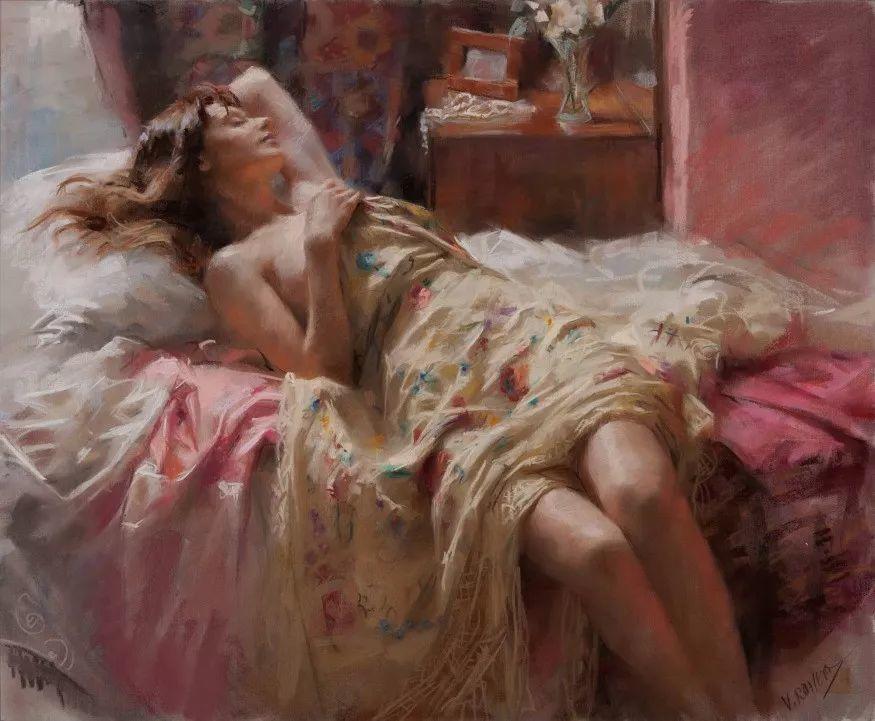 色粉大师的浪漫之光——Vicente Romero插图56