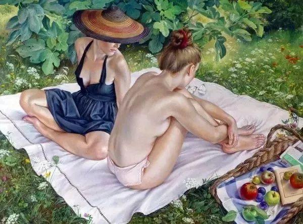 画人体,她一生都在画周围的女性朋友插图1
