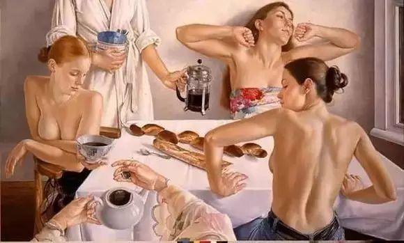 画人体,她一生都在画周围的女性朋友插图4