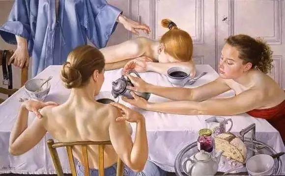 画人体,她一生都在画周围的女性朋友插图5