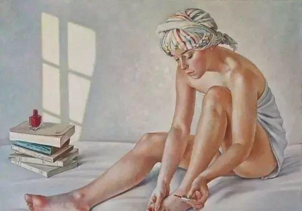 画人体,她一生都在画周围的女性朋友插图22