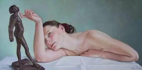 画人体,她一生都在画周围的女性朋友插图35