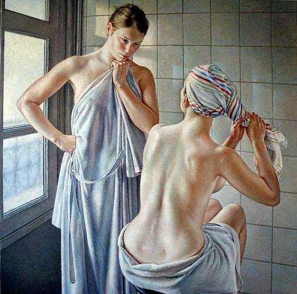 画人体,她一生都在画周围的女性朋友插图53