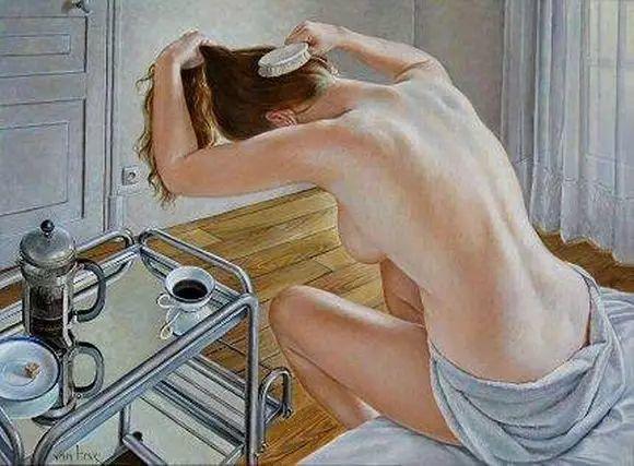 画人体,她一生都在画周围的女性朋友插图56