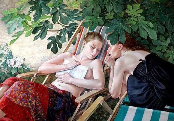 画人体,她一生都在画周围的女性朋友插图58