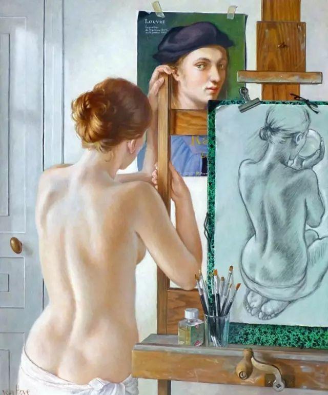 画人体,她一生都在画周围的女性朋友插图60