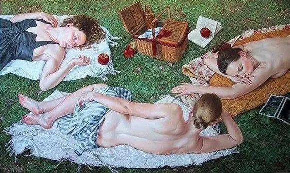 画人体,她一生都在画周围的女性朋友插图67