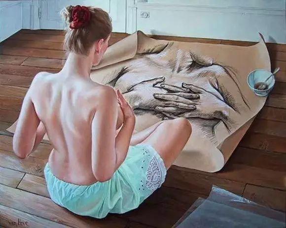 画人体,她一生都在画周围的女性朋友插图68