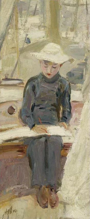 他的作品多为巴黎当红女郎的肖像插图7