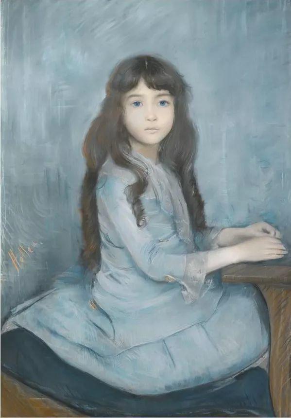 他的作品多为巴黎当红女郎的肖像插图9