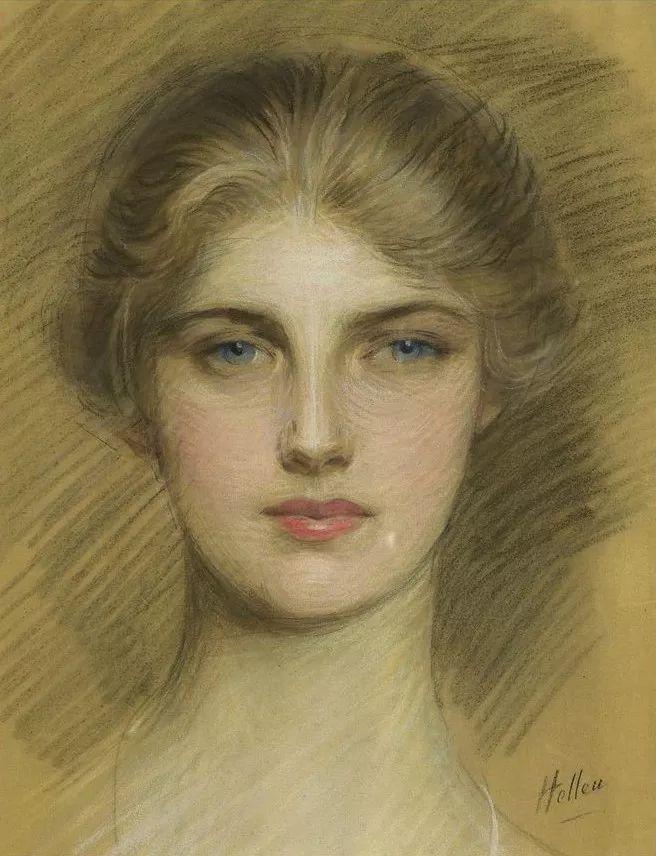 他的作品多为巴黎当红女郎的肖像插图11