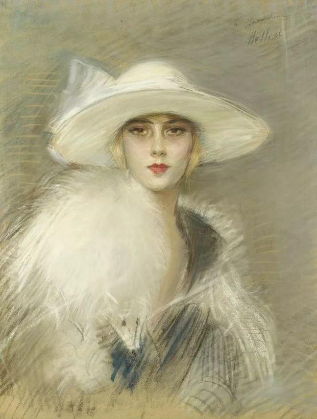 他的作品多为巴黎当红女郎的肖像插图13