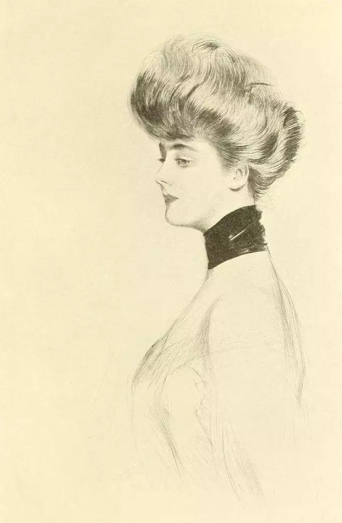 他的作品多为巴黎当红女郎的肖像插图21
