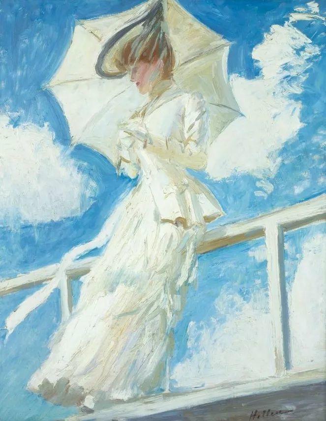 他的作品多为巴黎当红女郎的肖像插图27