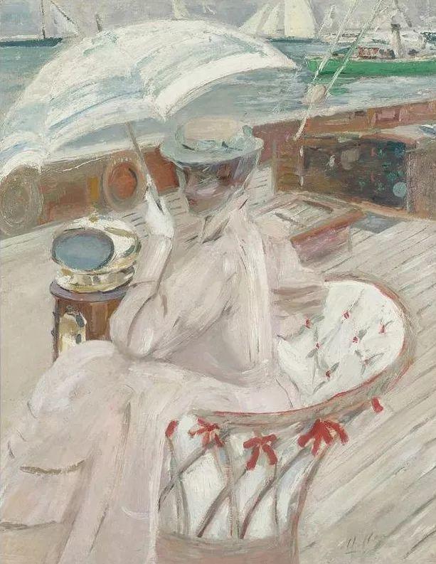 他的作品多为巴黎当红女郎的肖像插图29