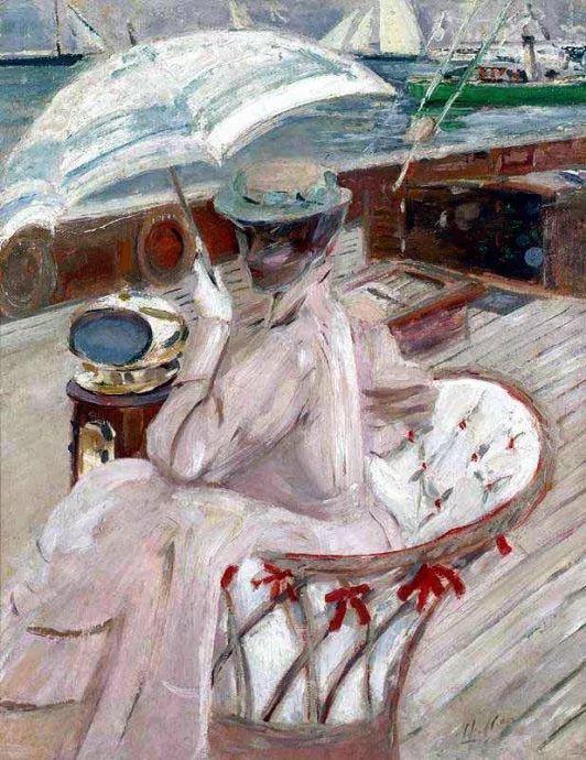 他的作品多为巴黎当红女郎的肖像插图31