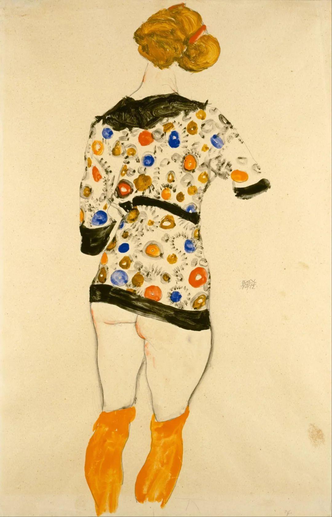 年仅28岁,生前遭受非议,死后却被捧为直逼心灵的艺术家插图47