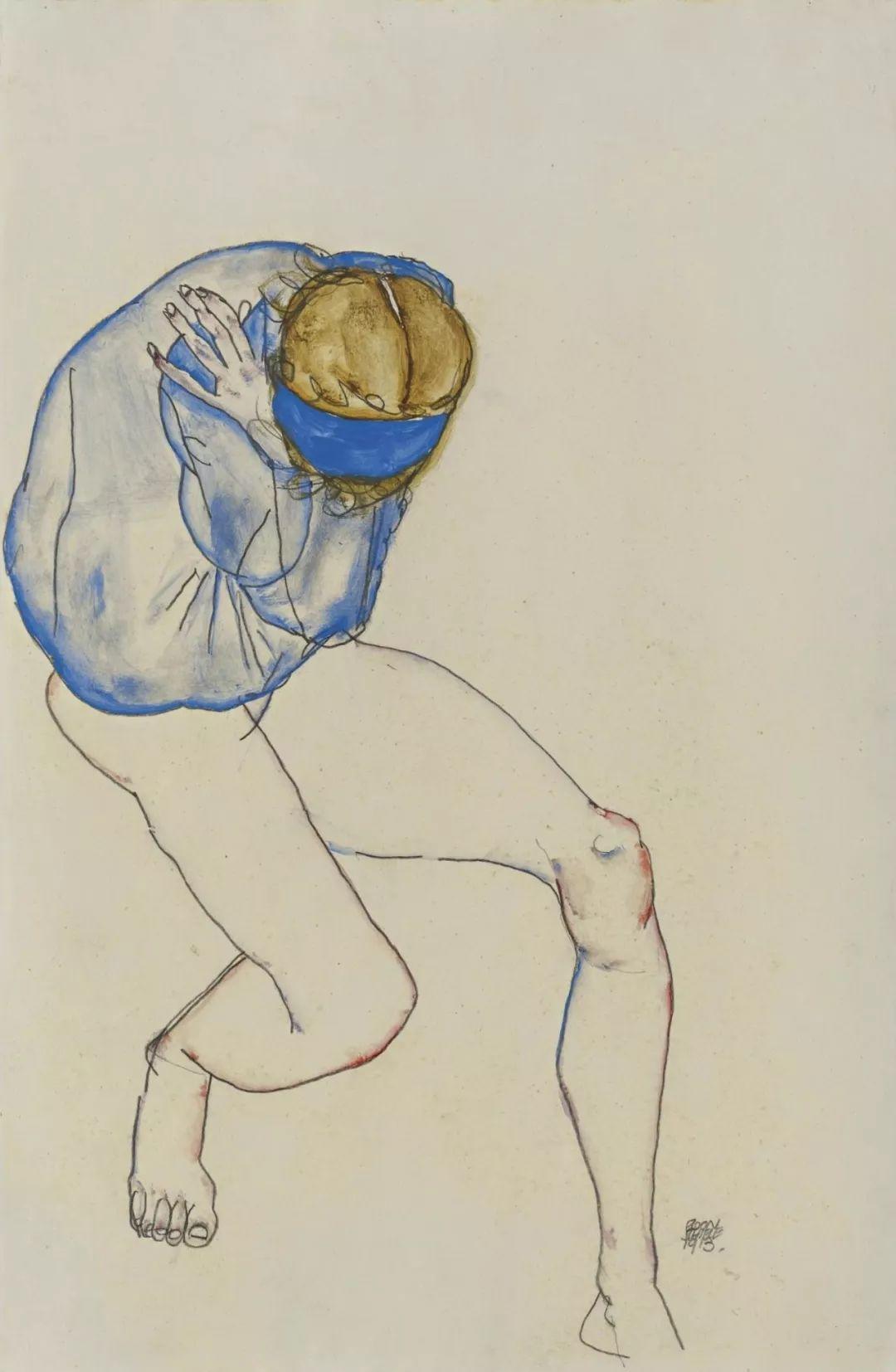 年仅28岁,生前遭受非议,死后却被捧为直逼心灵的艺术家插图67