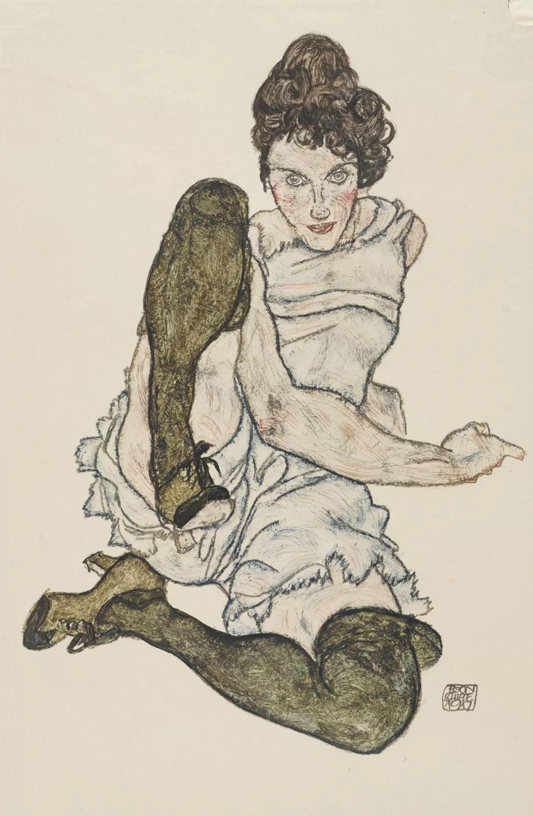 年仅28岁,生前遭受非议,死后却被捧为直逼心灵的艺术家插图69